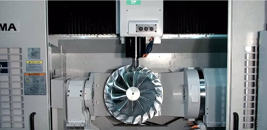 Five Axis CNC Machining